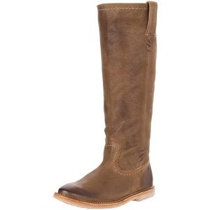 FRYE Leather Celia XStitch Boots *NEW CONDITION*